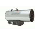 Gas-Heizkanone, Chrom, 40Kw