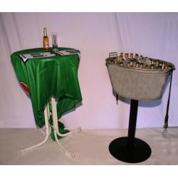Flaschenkühler, Zinkwanne