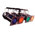 4er DMX Bar PAR 64, silber, 500 Watt Raylight