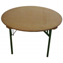 Bankett Tisch, Sitztisch, rund, 120cm, für 6 Personen