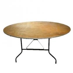 Bankett Tisch, Sitztisch, rund 180cm, für 10 Personen