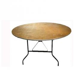 Bankett Tisch, Sitztisch, rund 150cm, für 8 Pers.