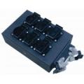 Harting Powerbox, für HAN16 Lastkabel mit 6 und 8 Schukosteckdosen
