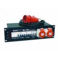 Eurolite SB 1100, 32A Stomverteiler je 2 CEE-Steckdose 16 A,  32 A, 6 SCHUKO-Steckdosen, FI, Sicher