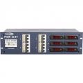 Showtec PSA 631, 64A Stomverteiler je 4 CEE-Steckdose 32 A, FI, Sicherungen, V/A Überwachung