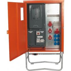 125A Anschluss-Verteiler-Endschrank, diverse Ausgänge, FI, Sicherungen,