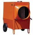 Diesel- Öl Warmluftheizung 150 Kw, Separater 500l. Tank