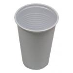 Trink - Becher 0,4l , weiß, 70 Stück, Einweg