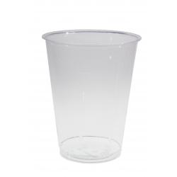 Trink - Becher 0,4l , klar, 70 Stück, Einweg