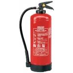 Feuerlöscher, 6kg Brandkl.A/B/C mit Glutbrandpulver