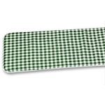 Sitzpolster für Festzeltbank Grün/Weiß
