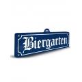 Schild Biergarten 3m