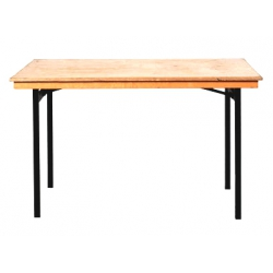 Bankett Tisch, Sitztisch, 80 x 150cm