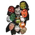 Halloween Masken-Set ( 15 Stück)
