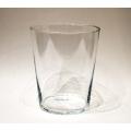 Vase, Glas 16 x 15 x 15