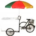 Showtheke Eis-Fahrrad