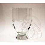 Vase, Glas 22 x 14,5 x 14,5