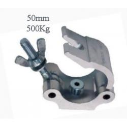Half-Coupler bis 500kg, Hook Clamp mit M10 Senkschraube