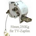 Coupler für TV-Zapfen, TV-Spigot, DOUGHTY T57223