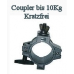 Hafl-Coupler,  Kunststoff Schwarz bis 10 kg
