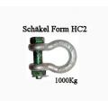 Schäkel Form HC2, bis 1,0to
