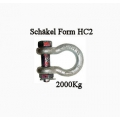 Schäkel Form HC2 - bis 2,0to