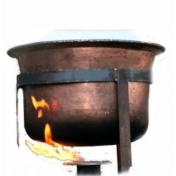 Feuerzangenbowle 40l Kupferkessel,  Zubehör