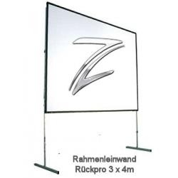 Rahmenleinwand, Rückpro 400x300 cm,Stumpfl Vario 32