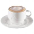 Milchkaffeetasse mit Unterteller, Serie