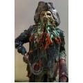 Dekofigur Davy Jones,  lebensgroß, 2,10m