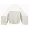Husse, Festzelttisch, 70er breite ,bodenlang,weiß