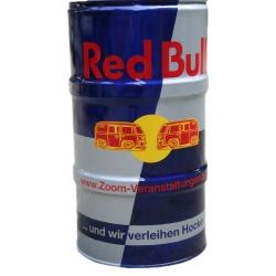 Sitzfass, Red Bulli-Design