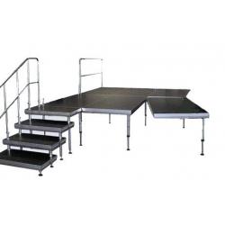 Nivtec System - Podest  2,0 x 1,0 Meter, 750kg/m², TÜV
