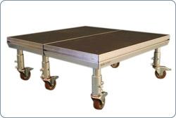 Nivtec System - Podest  1,0 x 1,0 Meter, 750kg/m², TÜV