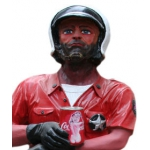 Dekofigur Police-Cop