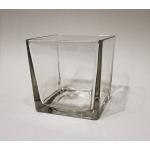 Windlicht Glas eckig 10 x 10 x 10