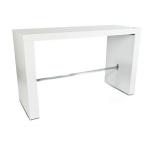 Hightable, weiß 140 x 50cm, 110cm hoch