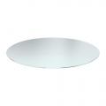 Tischplatte Glas, rund ca. 70cm