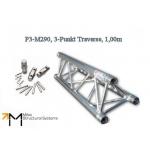 LiteTruss P3-M290, 3-Punkt Traverse, 1,00m, TÜV