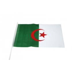 Stockfahne 30 x 40cm Algerien