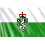 Fahne Steiermark 150 x 90  (Österreich Bundesland)