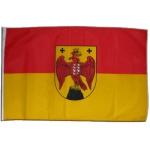 Fahne Burgenland 150 x 90  (Östreich Bundesland)
