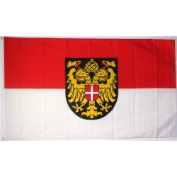 Fahne Wien, alt 150 x 90cm (Österreich Bundesland)