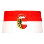 Fahne Salzburg 150 x 90  (Österreich Bundesland)