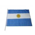 Stockfahne 30 x 40cm Argentinien