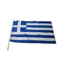 Stockfahne 30 x 40cm Griechenland