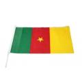 Stockfahne 30 x 40cm Kamerun