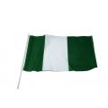 Stockfahne 30 x 40cm Nigeria