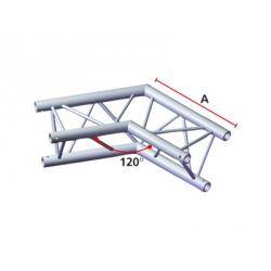 LiteTruss P3-M290, 2 Wege Winkel 60°, Spitze innen ACB 20