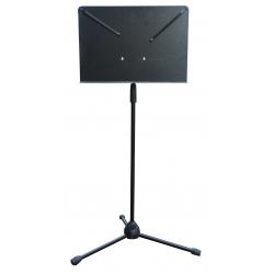 Notenpult Alu, Orchesternotenpult, schwarz
